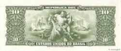 10 Cruzeiros BRÉSIL  1953 P.159f NEUF
