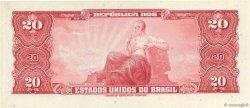 20 Cruzeiros BRÉSIL  1963 P.168b NEUF