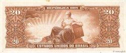20 Cruzeiros BRÉSIL  1955 P.160d NEUF