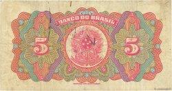 5 Mil Reis BRÉSIL  1923 P.112a TB+