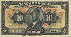 10 Mil Reis BRÉSIL  1923 P.114a TB+