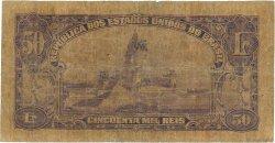50 Mil Reis BRÉSIL  1936 P.059 AB