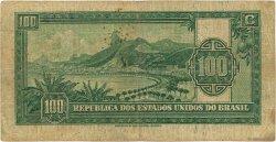 100 Mil Reis BRÉSIL  1936 P.071 TB