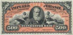 500 Reis BRÉSIL  1880 P.A243a TTB