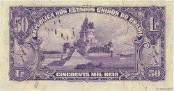 50 Mil Reis BRÉSIL  1936 P.059 SUP