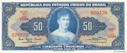 50 Cruzeiros BRÉSIL  1961 P.169a NEUF