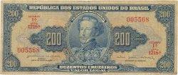 200 Cruzeiros BRÉSIL  1964 P.171b B