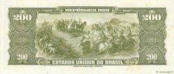 200 Cruzeiros BRÉSIL  1964 P.171b NEUF