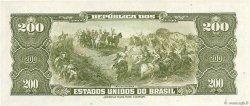 200 Cruzeiros BRÉSIL  1964 P.171c NEUF