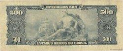 500 Cruzeiros BRÉSIL  1961 P.172a TB
