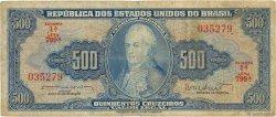 500 Cruzeiros BRÉSIL  1962 P.172b B