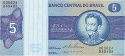 5 Cruzeiros BRÉSIL  1974 P.192c NEUF