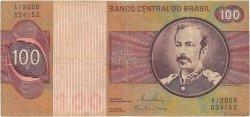 100 Cruzeiros BRÉSIL  1981 P.195Ab TB