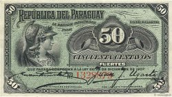 50 Centavos PARAGUAY  1907 P.115a