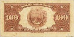 100 Pesos PARAGUAY  1923 P.168a TB