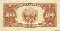 1 Guarani sur 100 Pesos PARAGUAY  1943 P.173a TTB