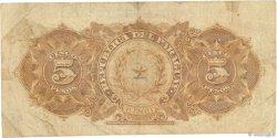 5 Pesos PARAGUAY  1912 P.127 TB