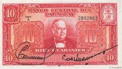 10 Guaranies PARAGUAY  1952 P.187a pr.NEUF