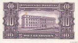 10 Guaranies PARAGUAY  1952 P.187b SUP+
