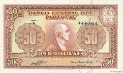 50 Guaranies PARAGUAY  1952 P.188b NEUF