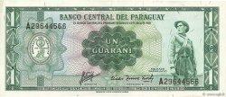 1 Guarani PARAGUAY  1963 P.193b TTB+