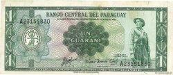 1 Guarani PARAGUAY  1963 P.193b TB+