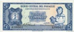 5 Guaranies PARAGUAY  1963 P.194 NEUF