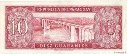 10 Guaranies PARAGUAY  1963 P.196a SUP