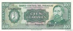 100 Guaranies PARAGUAY  1982 P.205 pr.NEUF