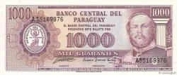 1000 Guaranies PARAGUAY  1982 P.207 pr.NEUF