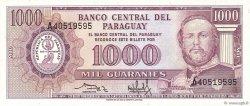 1000 Guaranies PARAGUAY  1982 P.207 NEUF