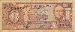 1000 Guaranies PARAGUAY  1995 P.213 B