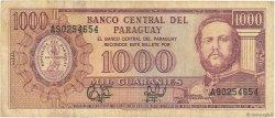 1000 Guaranies PARAGUAY  1995 P.213 TB