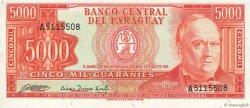 5000 Guaranies PARAGUAY  1982 P.208 NEUF