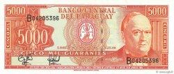5000 Guaranies PARAGUAY  1997 P.215 pr.NEUF