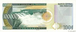 100000 Guaranies PARAGUAY  1998 P.219 NEUF