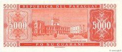 5000 Guaranies PARAGUAY  2000 P.220a NEUF