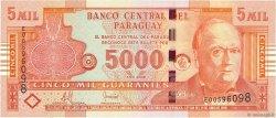 5000 Guaranies PARAGUAY  2008 P.223b NEUF