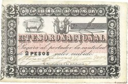 2 Pesos PARAGUAY  1860 P.012 SUP
