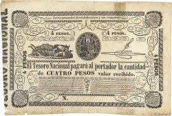 4 Pesos PARAGUAY  1862 P.016 pr.TTB