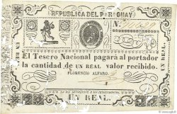 1 Real PARAGUAY  1865 P.018 TB+