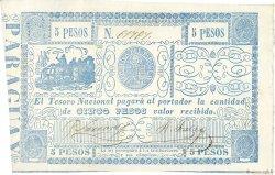 5 Pesos PARAGUAY  1865 P.025 SPL