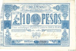 10 Pesos PARAGUAY  1865 P.026 SUP+