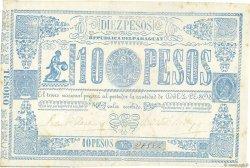 10 Pesos PARAGUAY  1865 P.026 TTB