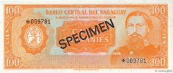 100 Guaranies PARAGUAY  1979 P.CS1 pr.NEUF