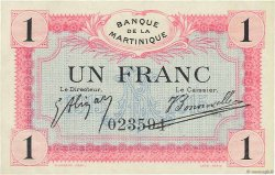 1 Franc MARTINIQUE  1915 P.10 SUP+