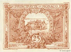25 Centimes MONACO  1920 P.01a SPL