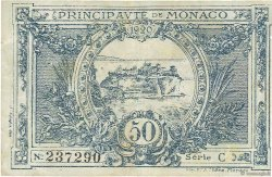 50 Centimes MONACO  1920 P.03a TB+