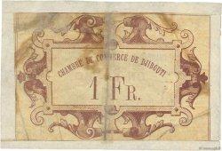 1 Franc DJIBOUTI  1919 P.24 AB