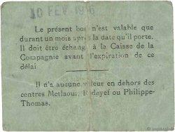 1 Franc TUNISIE  1916 P.-- TB